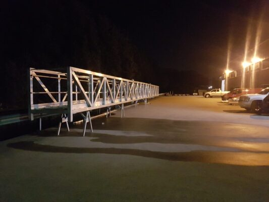 24 meters modular bridge